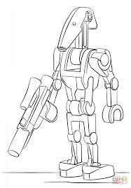 Small Picture Lego Battle Droid coloring page Free Printable Coloring Pages