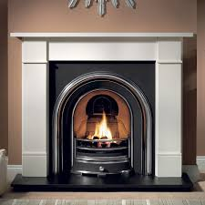 brompton stone fireplace with jubilee cast iron arch