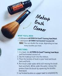how to clean makeup brushes with coconut oil. see this instagram photo by @jaclyngwhite doterra makeup brush cleaner with on guard essential oil how to clean brushes coconut p