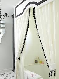 Bathroom valance curtains White Fun New Decorating Ideas Decorating Home Garden Television Wood Valance White Valance Pinterest Decorating Ideas For Adding Color To Your Home Yummy Bathrooms