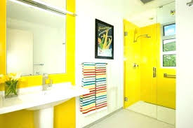 bathroom colors yellow. Yellow And White Bathroom Decorating Ideas Purple Wall . Colors W