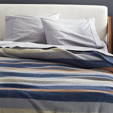 striped wool full queen blanket
