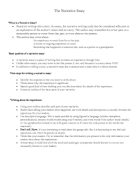 narrative essay examples  narrative resume template federal middot     oyulaw