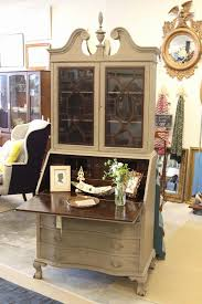 20 lovely vintage secretary desk with hutch