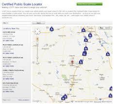 penske truck al s certified public scale locator for your next dity or pcs
