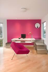 pink home office design idea. Simple Office Fuchsia Office Decor On Pink Home Design Idea L