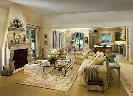 ... Mediterranean Design Mediterranean Living Room Design With Fireplace  And Traditional Furniture ...