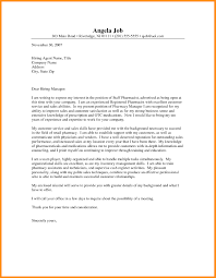 6 Pharmacist Cover Letter Examples The Perfect Cover Letter For A