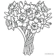 Printable Coloring Pages Of Flowers And Butterflies Coloring Pages Flower Free Printable For Kids From Roses