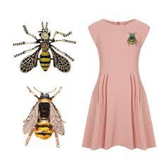 <b>2</b> шт. Винтаж пчелы металлические броши булавка для ...
