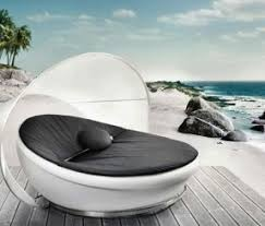 modern patio furniture. Contemporary Outdoor Furniture | Modern Patio \u2013 Lounge Couch By Solpuri O
