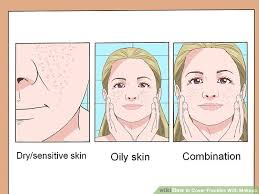 image led determine your skin type step 6