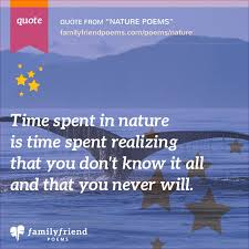 nature poems   poems about nature