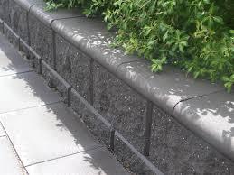 island block paving retaining wall