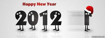 happy new year 2012.  Happy Happy New Year 2012 Facebook Cover  On
