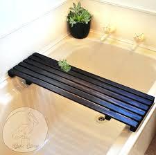 bathtub tray caddy wood bath australia diy . bathtub tray ...