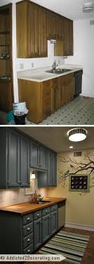 cheap kitchen ideas. Wonderful Cheap Before And After Teeny Tiny Kitchen Cheap Makeover What An Amazing  Improvement In Kitchen Ideas