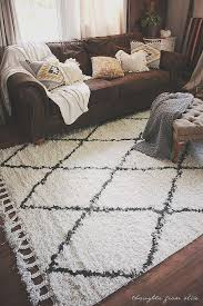 outdoor rug with rubber backing for home decorating ideas beautiful thoughts from alice boho chic living room makeover finding the