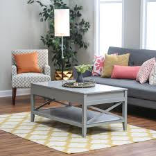 Amazon.com: Belham Living Hampton Lift Top Coffee Table   Gray: Kitchen U0026  Dining Design Inspirations
