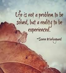 Best Quotes On Life Life Is A Reality To Be Experienced Inspiration Reality Life Quotes