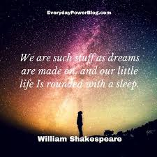 Dream A Little Dream Quotes Best of 24 Dream Quotes On Life Love The Future Everyday Power