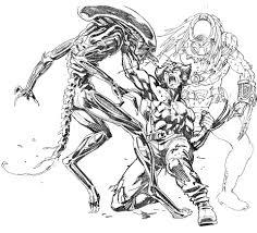 Wolverine Vs Alien Vs Predator By