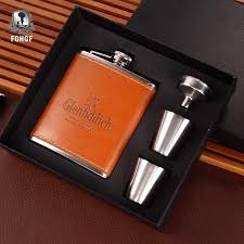 <b>1 Set</b> Portable Stainless Steel 7 Oz Hip <b>Alcohol Flask</b> Set Drinkware ...
