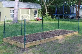 small garden fence to keep animals