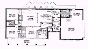 ranch house plans walkout basement home open concept regarding ranch style house plan pictures