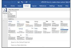 How To Make A Signup Sheet On Word Interesting How To Create And Share Custom Style Sheets In Word And PowerPoint