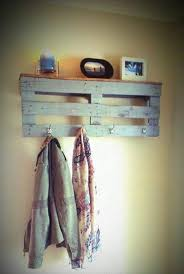 Pallet Coat Rack Beauteous 32 Reclaimed Wood Pallet Coat Rack Home Decorating Pinterest