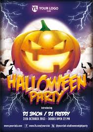 party flyers ideas images halloween party flyer template by doghead on