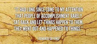 Leonardo Da Vinci Quotes Impressive What Leonardo Da Vinci Would Teach You About Achievement Academy