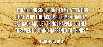 Leonardo Da Vinci Quotes Impressive What Leonardo Da Vinci Would Teach You About Achievement Academy