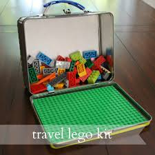 so when he asked if he could take his legos to gramma s i had the idea to create a little travel kit