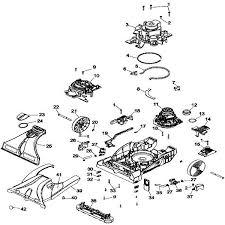 hoover carpet cleaner parts diagram carpet ideas hoover steamvac parts