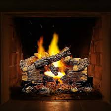 gas fireplace gravel lava rocks embers inserts fission energy