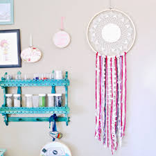 Dream CatchersCom Simple How To Make A DIY Doily Dream Catcher Dear Handmade Life