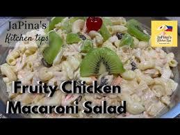 fruity en macaroni salad with