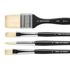 jackson s shiro professional hog bristle brushes series 301 302 304 306