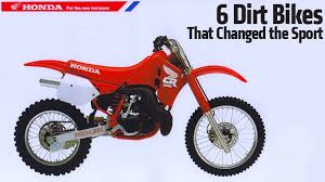 6 dirt bikes that changed the sport rideapart
