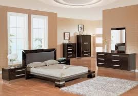 sophisticated bedroom furniture. calming brown bedroom palette painting color combined with sophisticated black furniture design plus beige shag rug