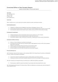 sample resume for correctional officer detention officer resume examples  detention sample objective for correctional officer resume