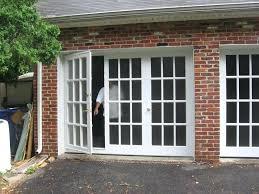 sliding glass garage doors sliding glass doors rollers replace