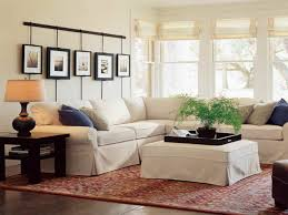 image of pottery barn living room small