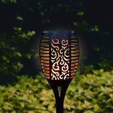 Gadgyâ â Solar Tuinfakkel â Solar Tuinlamp Tuinverlichting Op Zonne Energie â Led Buitenverlichting Met Lichtsensor â Dimbaar