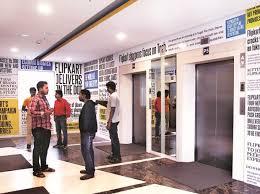 Flipkart Campus On A Walmart High Employees Await Stock