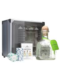 patron silver tequila set