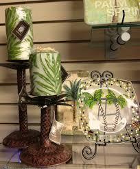 Pillars For Home Decor Palm Motif Home Decor Memento Palm Springs