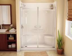 corner shower stalls. One Piece Shower Stall - Http://www.digiscotsolutions.com/one-piece-shower- Stall/ : #BathroomDécor The Term \u201cone Stall\u201d Unit Is A Misnomer. Corner Stalls E